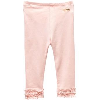 ミキハウス EveryDaymikihouseレギンス風裾フリルパンツ ピンク