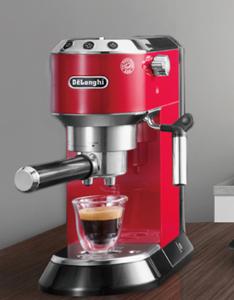 義大利 DELONGHI 迪朗奇半自動咖啡機 EC680.R 紅色 商品規格 商品型號:EC680 顏色選擇:(M)銀、(R)紅 材質:不锈鋼 氣壓指數:15bar 消耗功率:1200W 產品電壓: