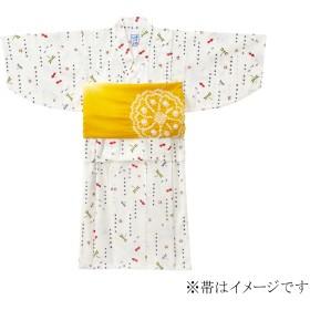 ミキハウス 金魚&トンボ和柄の浴衣(男児用) 白