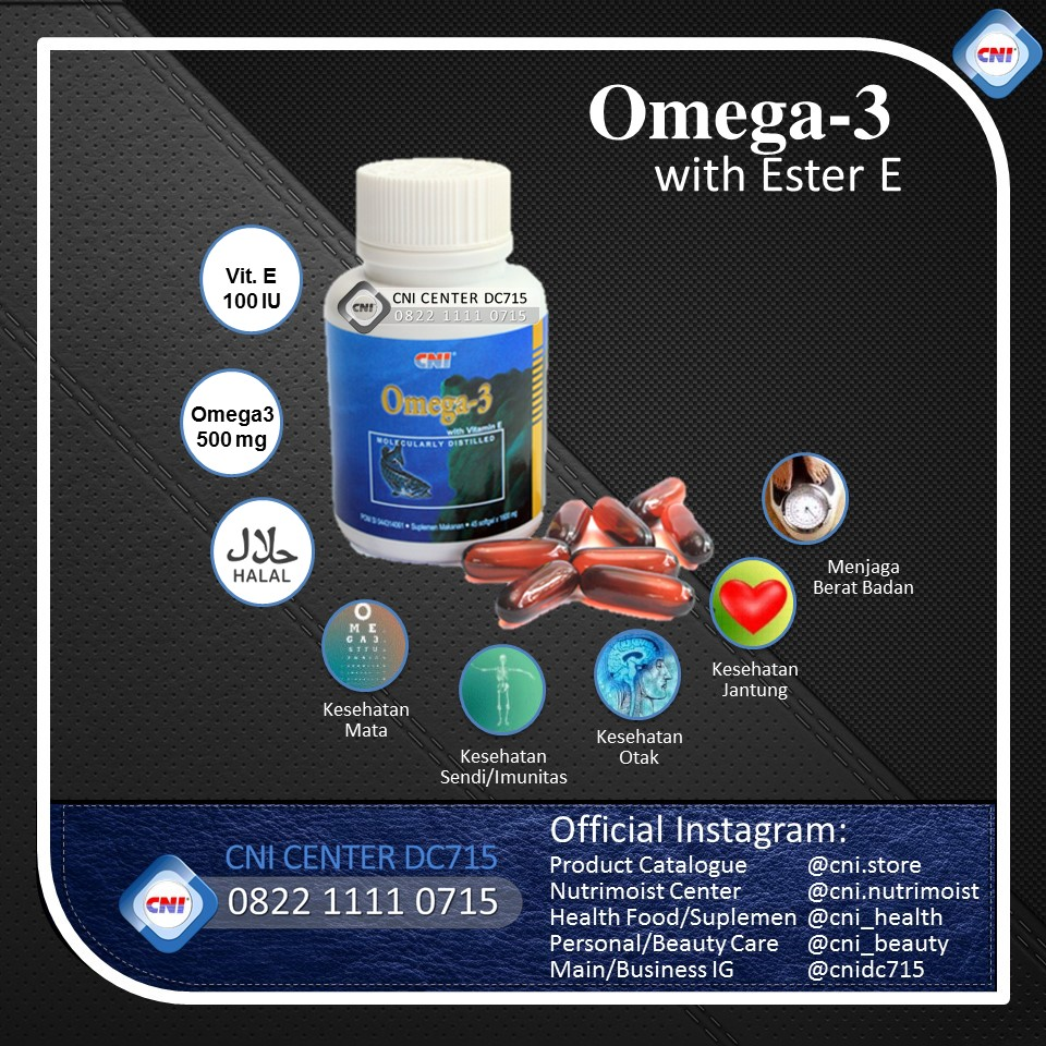 Cni Center Dc715 Shop Line Sun Chlorella A Import 300 Tablet Omega 3 With Ester E 45 Softgell