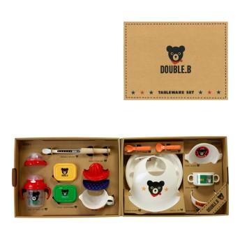 ミキハウス ■テーブルウェアセット(ベビー食器セット)