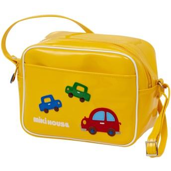 ミキハウス 車&お花のエナメル幼稚園バッグ 黄