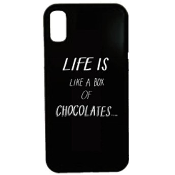 iPhone X用 Waylly Life Is Like A Box Of Chocolates WL8-LIFE 壁に張り付くケース