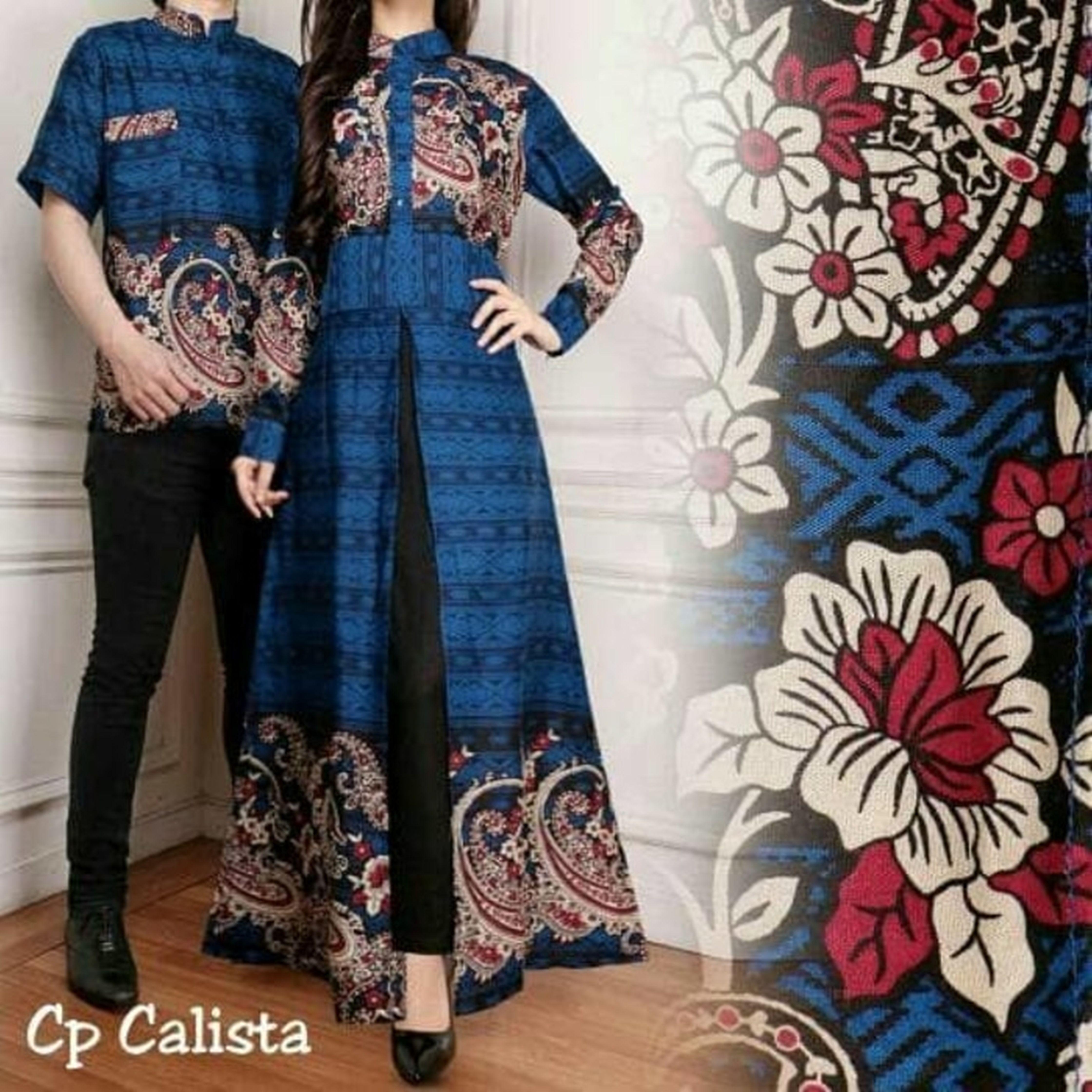 Couple Calista couple batik couple muslim couple gamis baju grosir