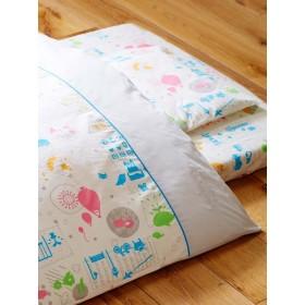 【ANGELIEBE/エンジェリーベ】baby book fufu colorfulスペシャル ウォッシャブル組布団11点セット カラフル -