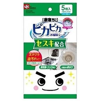 レック 激落ちくんセスキピカピカお掃除シート (5枚入) S00026