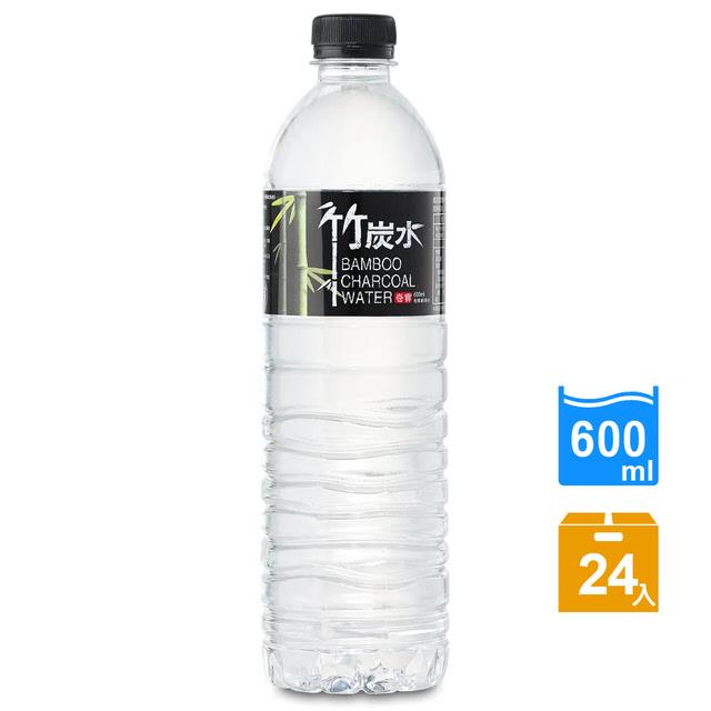 免運 【奇寶】竹炭水600ml(24瓶/箱)