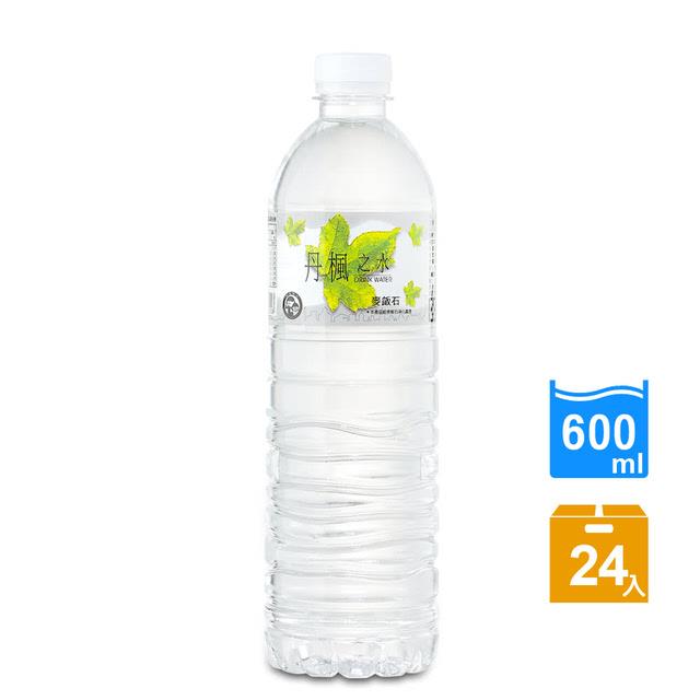 免運 【DRINK WATER丹楓之水】麥飯石礦泉水600ml(24瓶/箱)