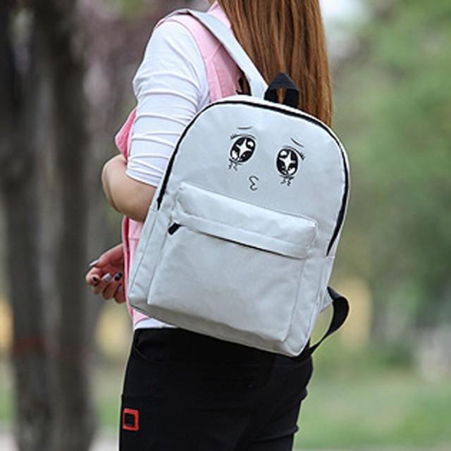 tas ransel korea mata lucu / Korean ulzzang eyes backpack BTA039: Rp 72.400