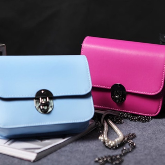 tas korea kotak / Korean small square chain handbag shoulderbag BTA034: Rp 62.800