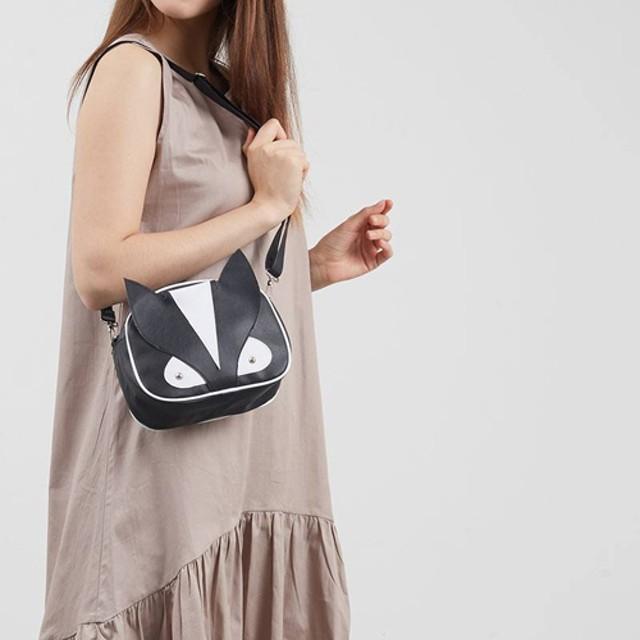 tas selempang cewek sling bag wanita monster hitam bta251: Rp 55.000