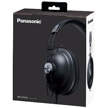 パナソニック Panasonic ヘッドホン(マッドブラック) RP-HTX70-K 1.2mコード