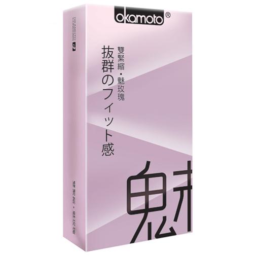 (18禁)岡本Fit 緊魅型保險套(10入)