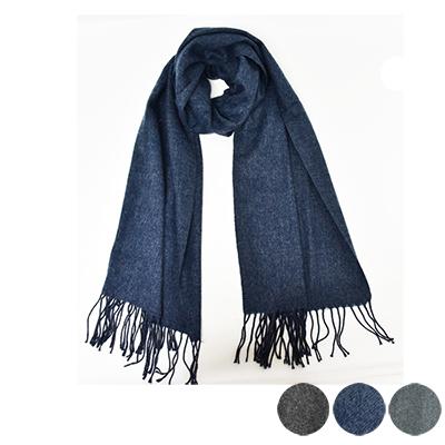 日本圍巾-簡約素面寬版圍巾-3色-玄衣美舖