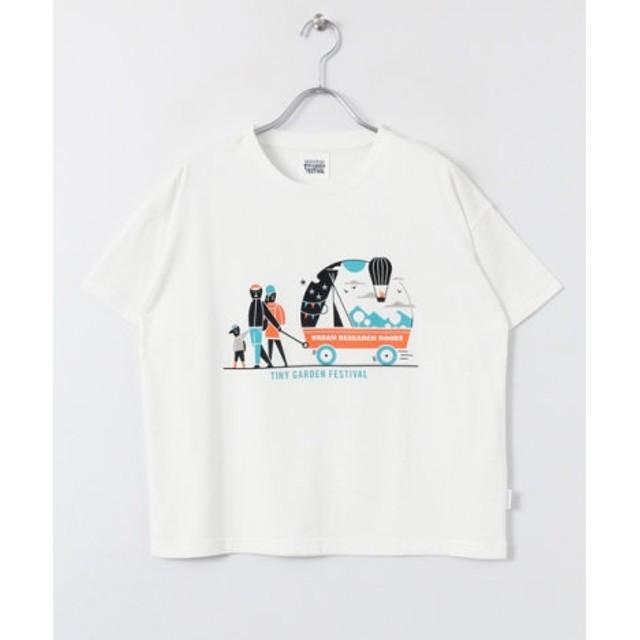 DOORS(ドアーズ) トップス Tシャツ・カットソー TINY GARDEN FESTIVAL T-SHIRTS(Women)