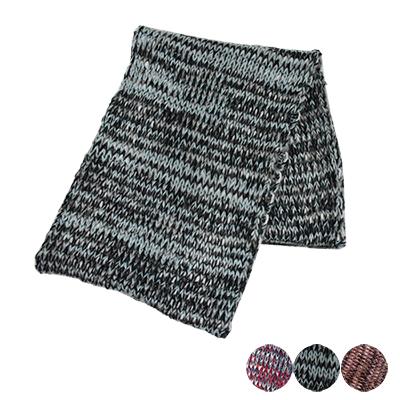 日本圍脖-漸層色寬鬆針織圍巾-3色-玄衣美舖