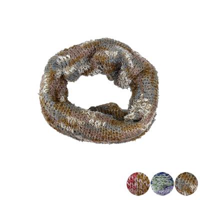 日本圍脖-彩色針織圍巾-3色-玄衣美舖