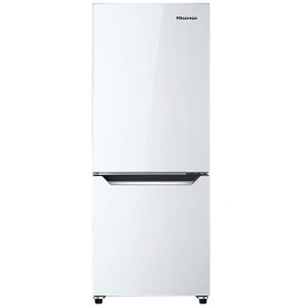 ハイセンス 2ドア冷凍冷蔵庫(150L・右開き) HR-D15C パールホワイト