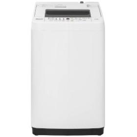 ハイセンス 全自動洗濯機 (洗濯4.5kg) HW-T45C ホワイト