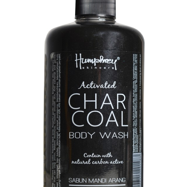 Humphrey skin care Activated Charcoal Detox Body wash 500ml: Rp 120.000 Rp 96.000