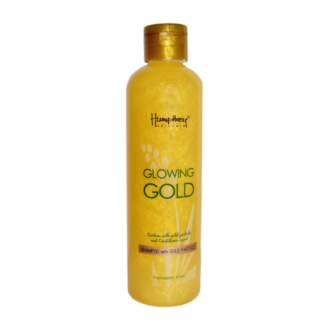 Humphrey skin care Glowing Gold Anti Aging Shampoo 250ml: Rp 185.000 Rp 148.000 · Humphrey