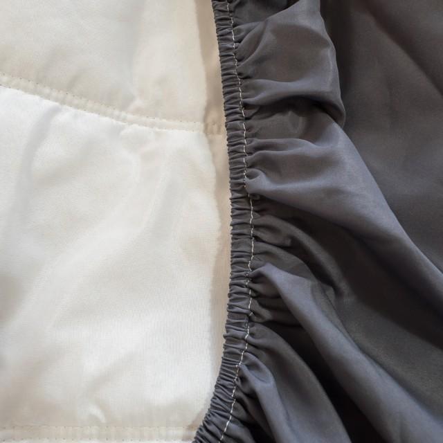 (鐵灰)床包式保潔墊 抗菌防蟎防污 台灣製【棉床本舖】
