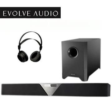 EVOLVE SB-3500 Soundbar 聲霸 無線 藍牙 家庭劇院 180W 無線超低音 送無線耳機