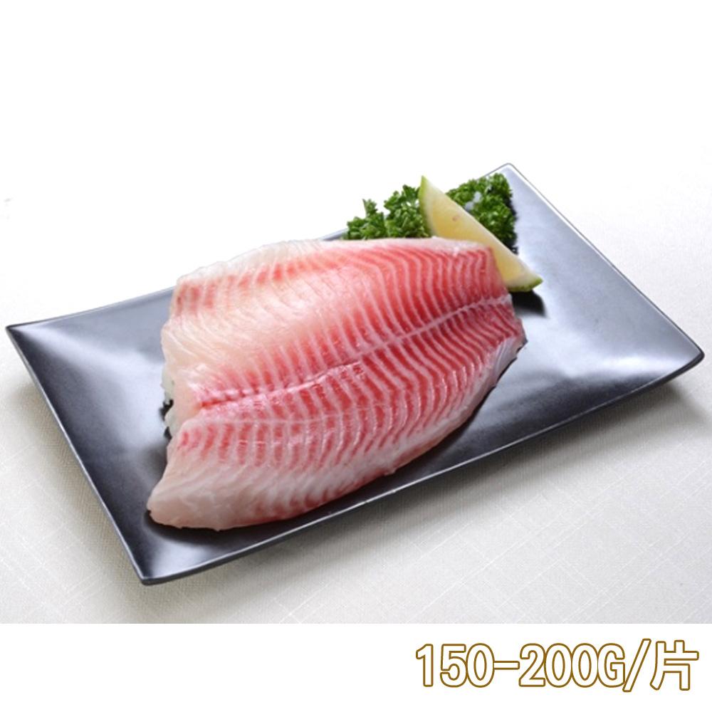 免運 新鮮市集 鮮甜活凍台灣鯛魚排3片(150-200G/片)