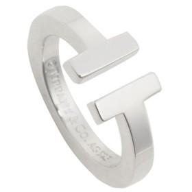【送料無料】ティファニー リング アクセサリー TIFFANY & Co. Tスクエア T SQUARE RING レディース 指輪 シルバー