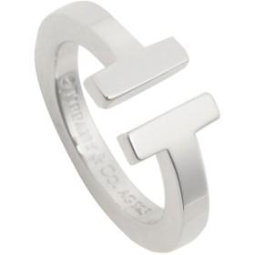 【送料無料】ティファニー リング アクセサリー TIFFANY & Co. Tスクエア T SQUARE RING レディース 指輪 シルバー 夏フェス 海 ビーチ