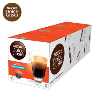 即期品12月到期 買2送1 雀巢 新型膠囊咖啡機專用 低咖啡因美式濃黑咖啡膠囊 (一條三盒入) 料號 12409482