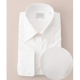 【オンワード】 gotairiku(ゴタイリク) 【形状安定】【レギュラーカラー】プレミアムプリーツ ドレスシャツ ホワイト 16(41-86) メンズ 【送料無料】