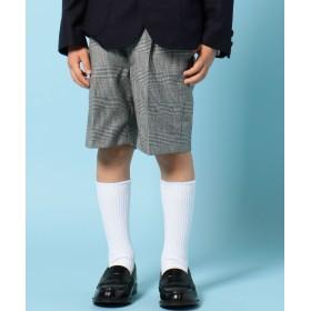 【オンワード】 J.PRESS KIDS(ジェイ・プレス キッズ) 【TODDLER】グレンチェック ハーフパンツ ブラック 110 キッズ 【送料無料】
