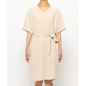 BEIGE, ベイジ, V-NECK DRESS [SHELBY] ワンピースドレス