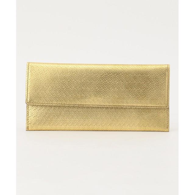 【オンワード】 airlist(エアリスト) マチなし長財布 LILY リリィ ゴールド フリー レディース 【送料無料】