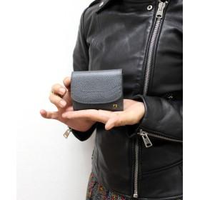 【オンワード】 CYPRIS(キプリス) 【カード4枚収納】アレナリア 日本製 三つ折りコンパクト財布 グレー[09] その他 レディース