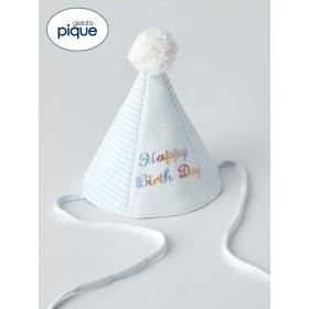 【ANGELIEBE/エンジェリーベ】【gelato pique】Birthdayハット ブルー フリー