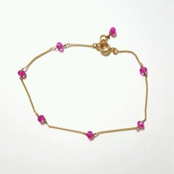 シルフィーブレスレット / アンクレット ピンク