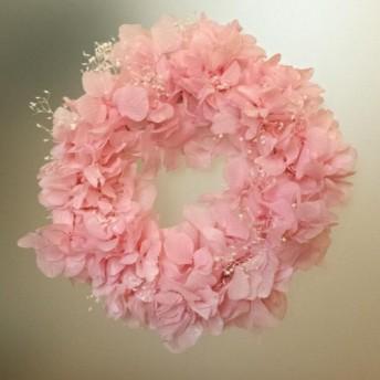 あじさいのリース(cherry blossom その3)15cm
