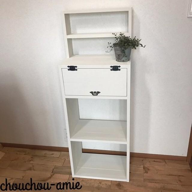 display shelf cabinet h120 WW 上段飾り棚付きキャビネット