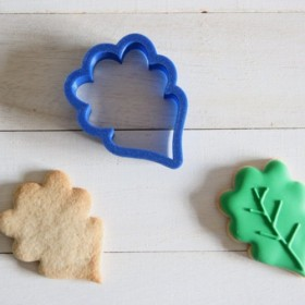 ヒイラギの葉クッキー型・クッキーカッター