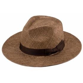 Cyril ケンマ草 フェドラー型 つば広 中折れ帽子 UK-H059