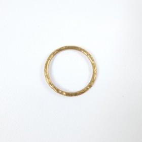 真鍮の細いリング