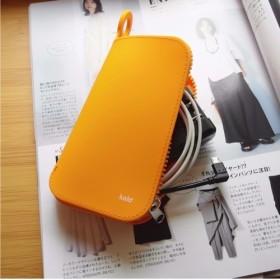【Kalo】Kalo Silicone Storage Bag/ シリコン製収納パック/ 収納ケース/オレンジ