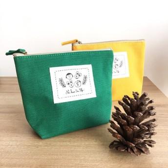 フィフィのコットンキャンバスユニバーサルパケット - 緑の果実