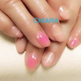 [no.86]上品ピンクのチークネイル/ブライダル/デート/普段使い/お呼ばれ/大人ネイル