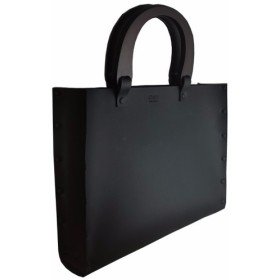 NLW(BLACK)SToLY Leather Bag/ストーリー レザーバッグ(牛革)