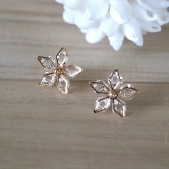 送料無料 Lilia crystal flower
