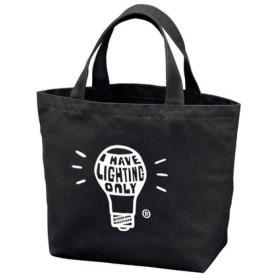 【再販】電球 I HAVE LIGHTING ONLY ポリキャンバストートバッグS 【受注生産品】