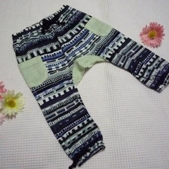 1点物やわらか手縫いのモンキーパンツ